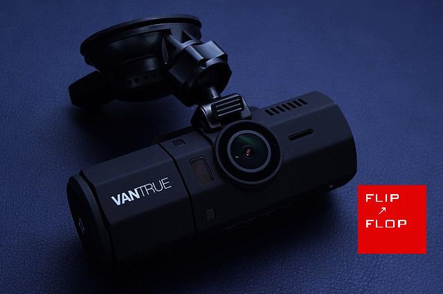 VANTRUE T2 うりぼうも写せるOBD対応ドライブレコーダー