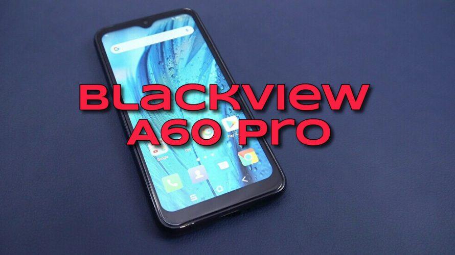 1万円台技適有りSIMフリースマホBlackview A60 Pro