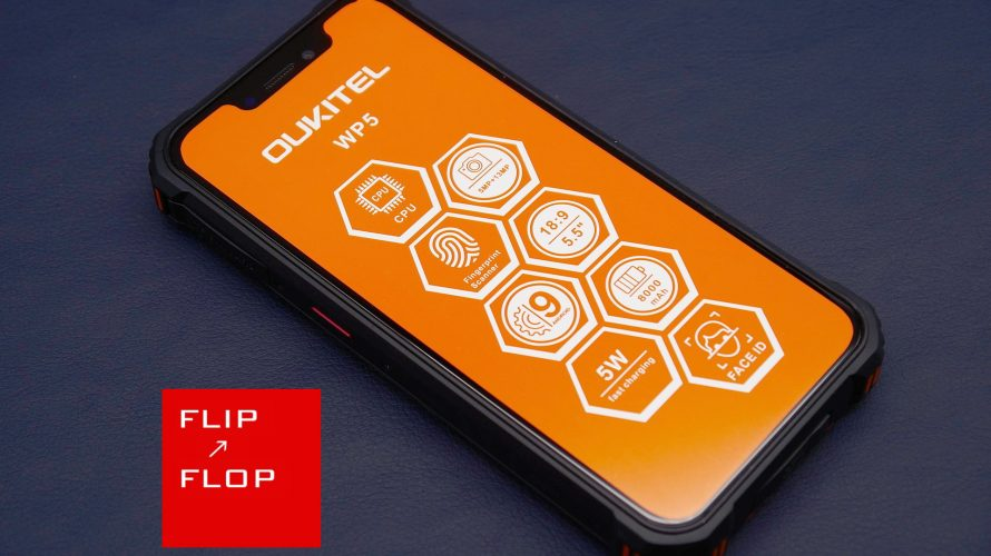 OUKITELの超弩級バッテリー搭載スマートフォン WP5