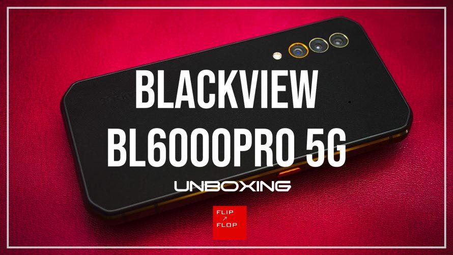 Blackview初の5Gスマホ BL6000Pro 5G レビュー前編